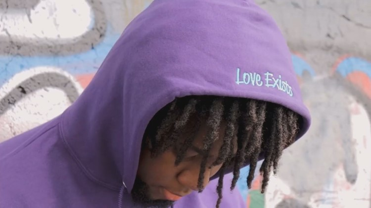 'We need love': Thomas College student launches clothing line 'Love Exists' inspired by hardships