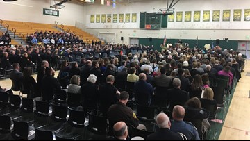 Firefighters, loved ones gather to say goodbye to Chief Gary Sacco