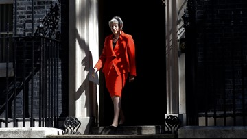 British PM Theresa May steps down