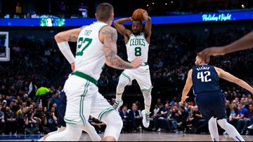 Mavs show the strain of their depleted lineup in loss to Celtics
