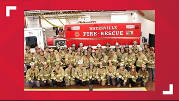 Waterville fire chief to investigate firefighter's apparent 'white power' hand gesture in department photo