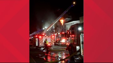 Old Town community coming together after fire tears through four buildings downtown