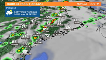 Very humid, severe storm risk today | Breton Blog