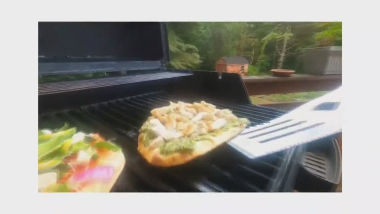 An easy dinner on the grill gets its start in the garden