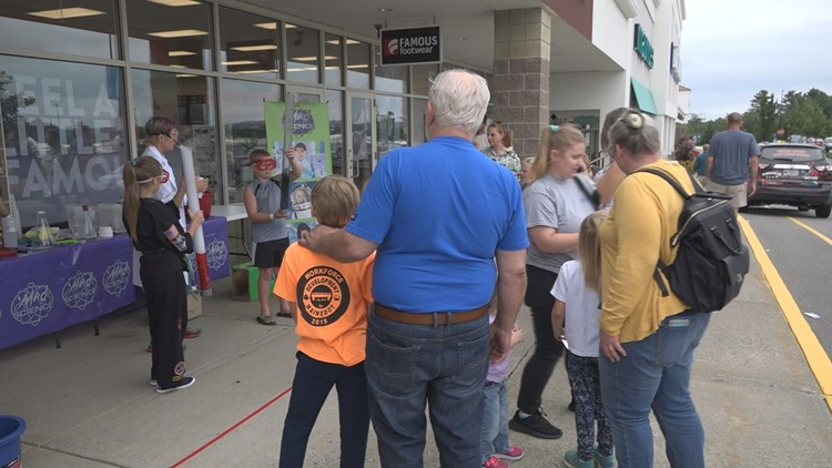 Marketplace at Augusta celebrates back to school shopping with block party