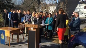 Governor makes good on pledge to make Blaine House solar