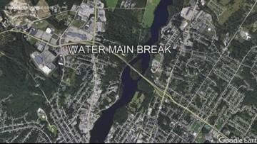 Yet another water main break in Auburn