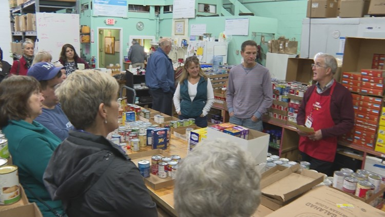 South Portland Food Cupboard prepares for busy holiday season