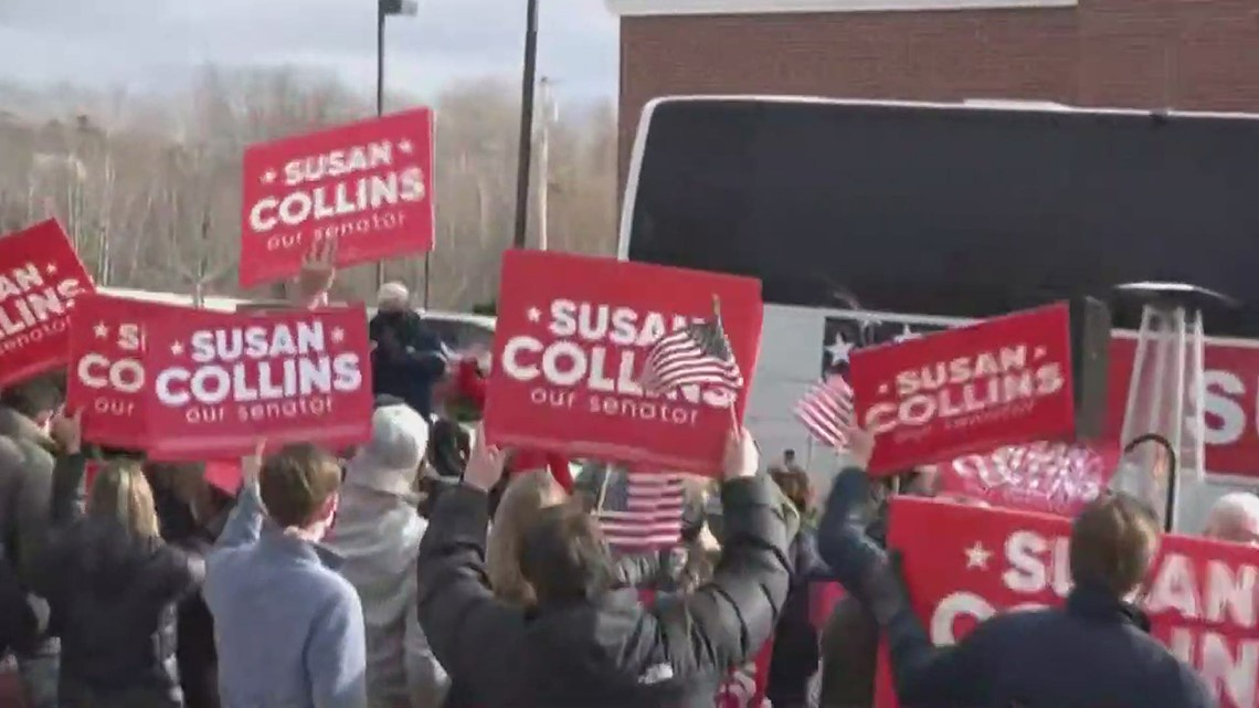 Maine Senator Susan Collins wins reelection
