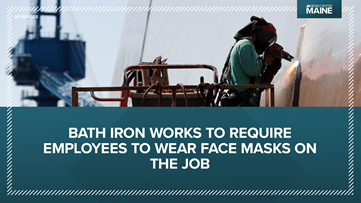 Bath Iron Works to require Maine workers to wear face masks amid the coronavirus, COVID-19 outbreak