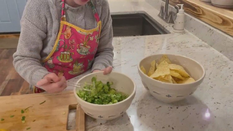 Viewer Chef Wylee Brown puts her own spin on guacamole just in time for the big game