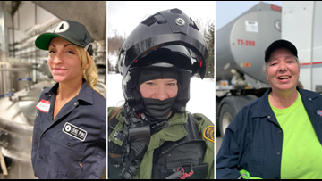 No longer a man's world -- Maine women thriving in male-dominated fields