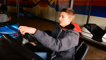 Students learn STEM at Saco amusement park