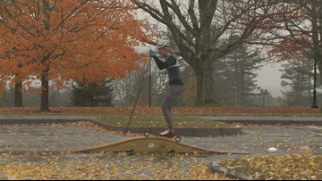 A new sport for Nordic Skiers