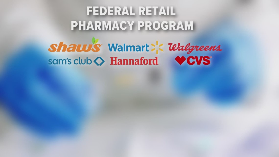Maine retail pharmacies to receive 14,420 doses of COVID-19 vaccine this week, less than half of last week's allocation