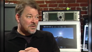 Archives: When Jonathan Frakes, TNG's Riker, lived in Maine
