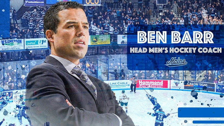 Ben Barr named new UMaine men's hockey coach