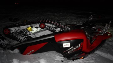 Two killed in separate snowmobile accidents Saturday
