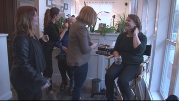 Sisters start cosmetics company to benefit cancer patients