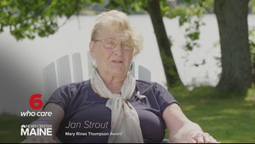 Jan Strout: 2019 Mary Rines Thompson award winner