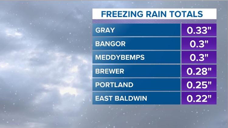 2 PM Freezing Rain Totals