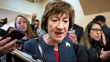 Chuck Todd weighs in on Sen. Collins' tough impeachment predicament