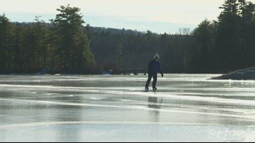Green Outdoors: Nordic skiers skate frozen ponds