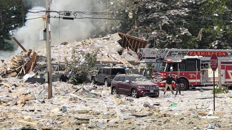 Farmington explosion rubble