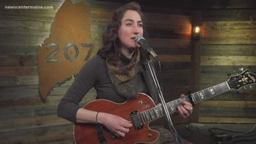 Maine Musician Playing for Her Community