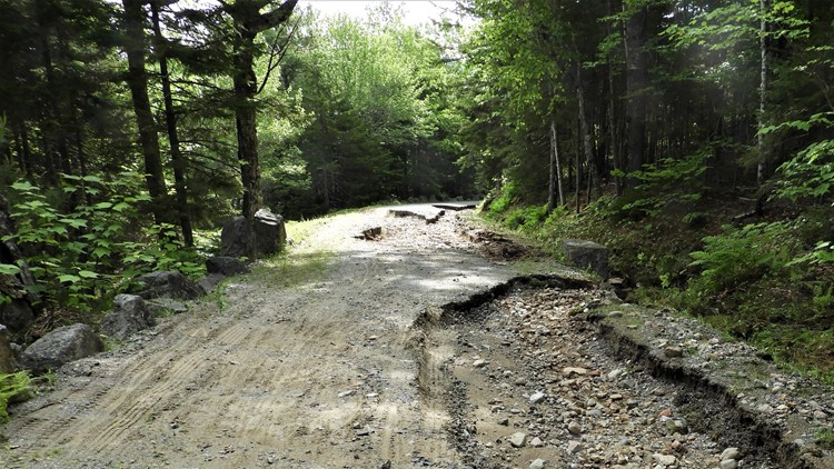 Deluge causes lasting damage on Acadia's carriage roads