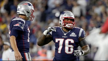 The Patriots' injury-riddled offensive line gets a much-needed Wynn