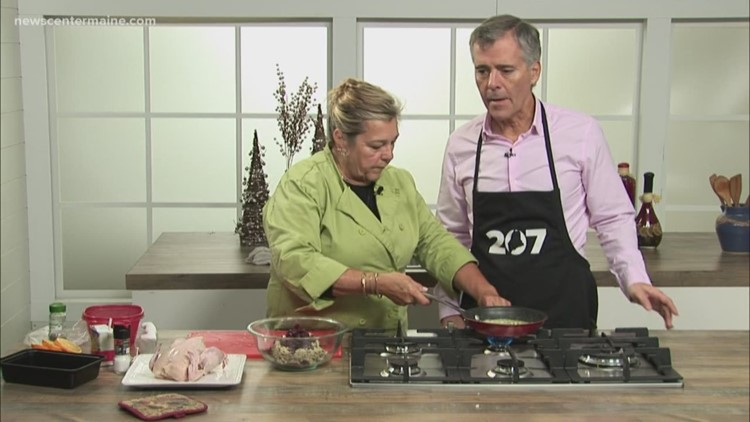 Lynn Archer makes Cornish Game Hens