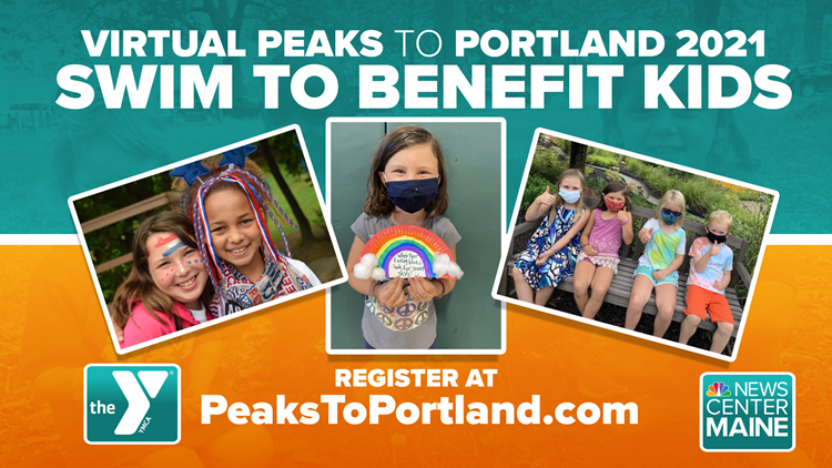 Time to register for the Virtual Peaks to Portland 2021 Swim to Benefit Kids