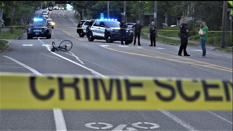 Portland police investigating car vs. bicyclist crash