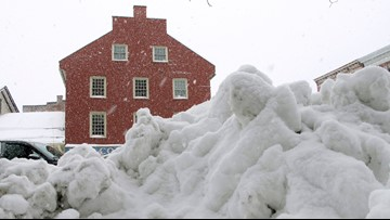 Total snow far surpasses average in parts of Maine, Vermont