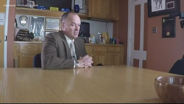 Commissioner Randy Liberty speaks about his PTSD