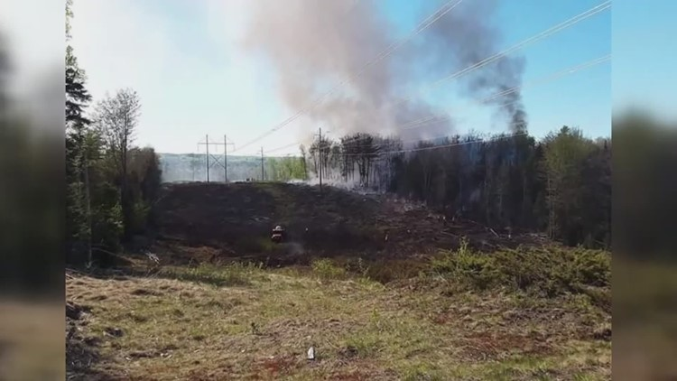 Maine wildfire season begins early this year