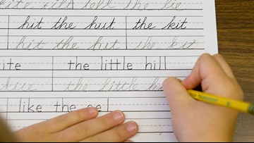 Bill would require cursive to be taught grades 3-5 in Maine