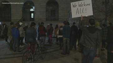 New Portland ICE office draws protestors