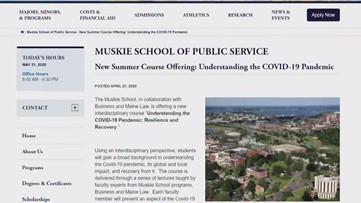 USM to host webinar to help people better understand coronavirus, COVID-19