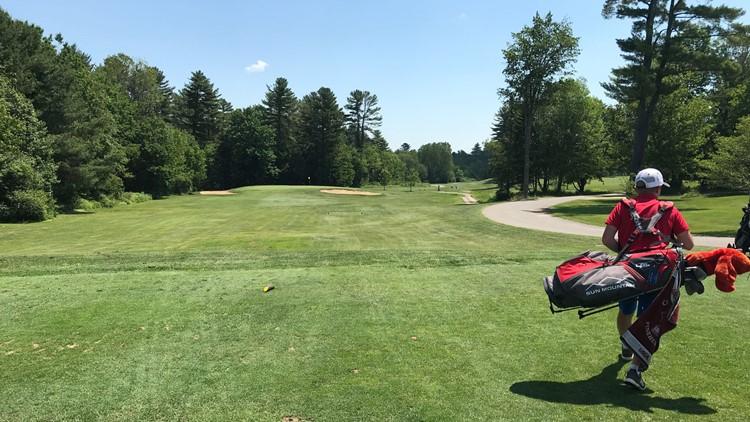 Kellen Adickes, 12-year-old Maine golfer