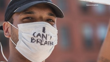 'I can't breathe': Protests over George Floyd's death reach Portland