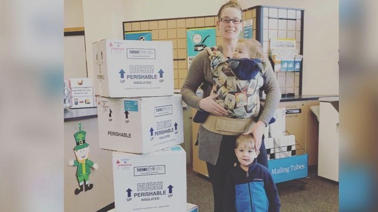 Audrey Kolod of Kittery donor breast milk