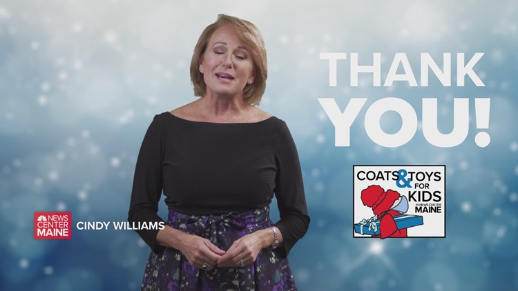 Thank you for being part of NEWS CENTER Maine's 2020 Coats and Toys for Kids campaign