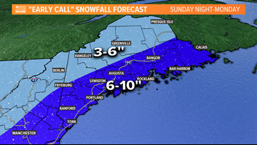EARLY LOOK: Some snow, Saturday...larger storm on the way to start the week | CORY'S BLOG