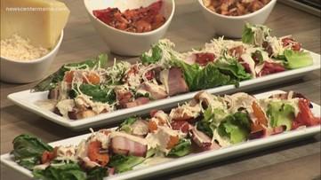 Grilled Asiago Caesar Salad
