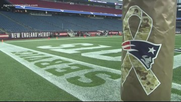 Patriots honor Maine military families