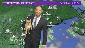 Jojo joins Keith for the weather at noon