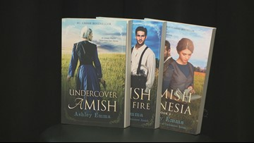 What led a writer to the Amish