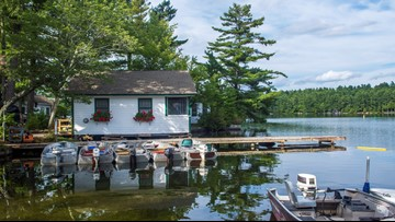 Peace and quiet on Long Pond -- Castle Island Camps celebrates a big anniversary